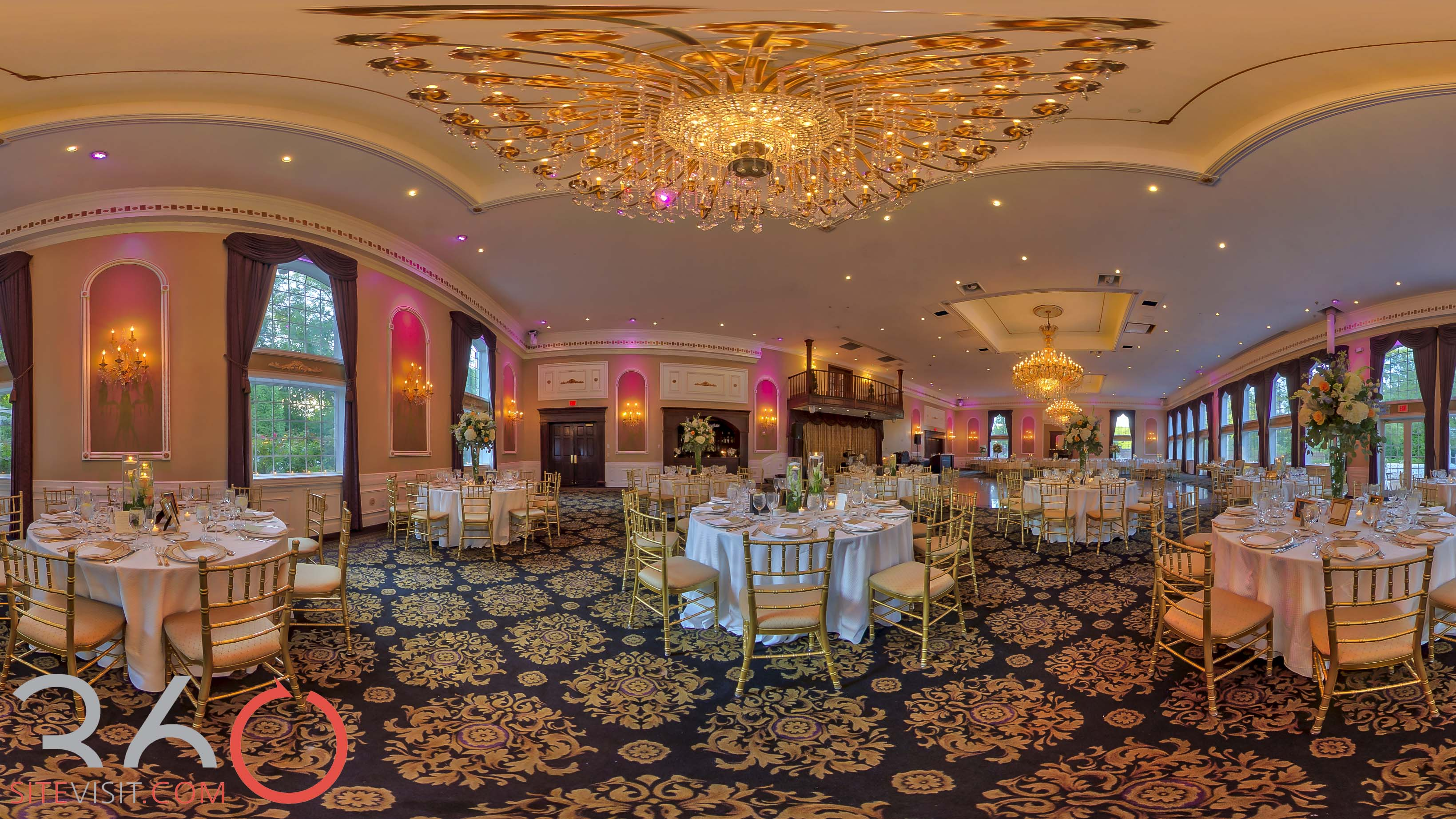 Estate At Florentine Gardens Wedding Venue Virtual Tour 360sitevisit